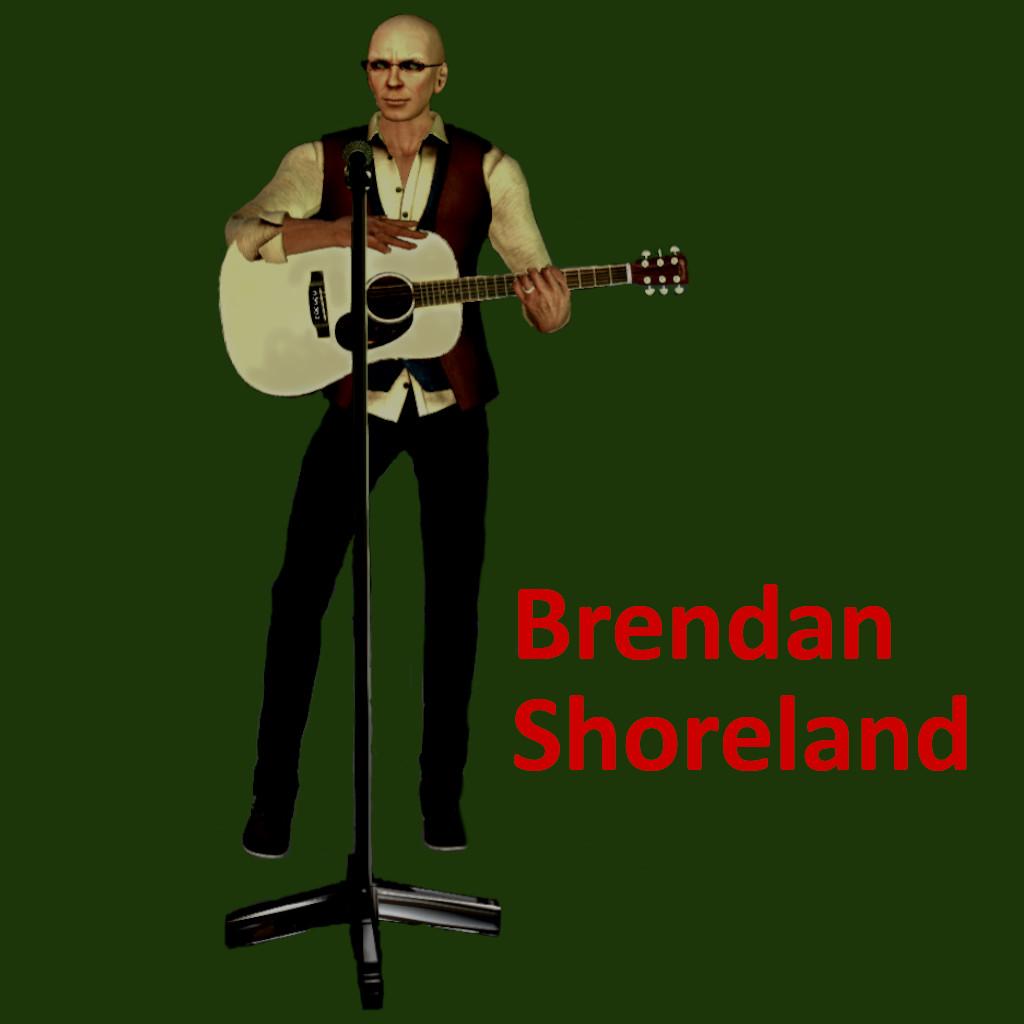 Publicity shot of Brendan Shoreland